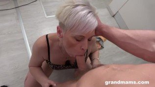 Granny Wants a Piece of my Cock