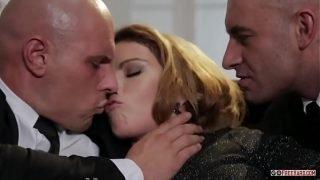 Samantha Joons Samantha Gets Fucked While An Old Man Watches