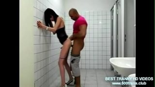 YOUNG HOT SHEMALE GETS FUCKED BY STRANGER IN PUBLIC TOILET www.500trans.club